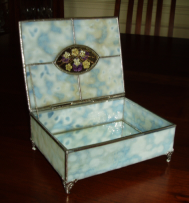 Stained Glass Jewelry And Jewelry Boxes Go To Great Panes