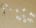 Rubber Earring Backs for posts or hooks